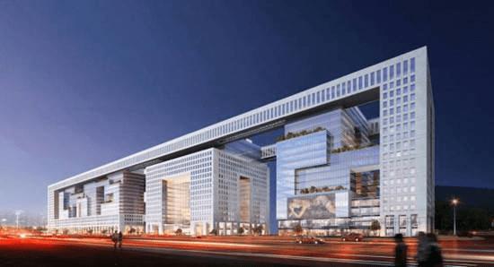 Smart Building mit Büros
