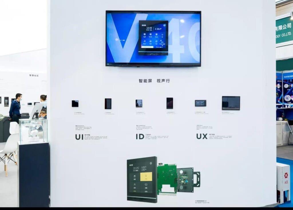 KNX Touchpanel-Serie V40, V50 und Z10 von GVS
