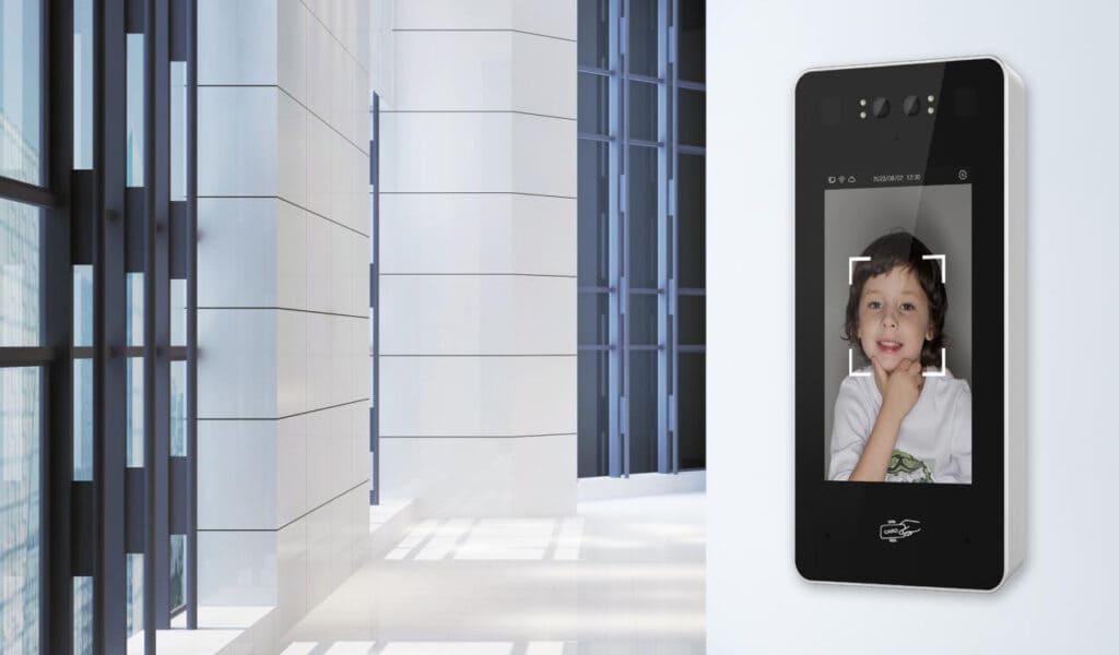 Video-Türstation mit RFID, Dual Kamera und Touchscreen