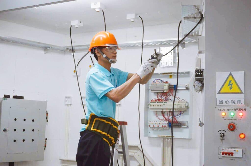 Wettbewerb für Elektriker