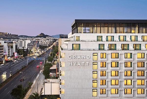 Grand Hyatt Hotel mit smartem Penthouse
