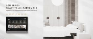 Neueste GVS Produktvorstellung: Das brandneue Z10, ein Display, welches Smart Home & Video Gegensprechanlage verbindet