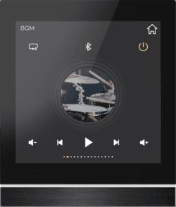 Musiksteuerung beim GVS KNX Touchpanel V40