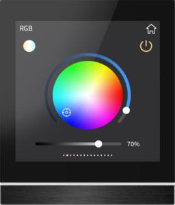 RGBW Dimmen beim GVS Smart Touch V40 V50