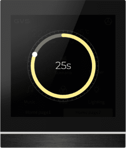 Reinigungsmodus beim GVS KNX Touchdisplay