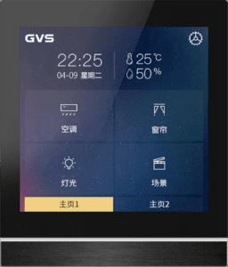 KNX Smart Touch V40 mit Hintergrundbild