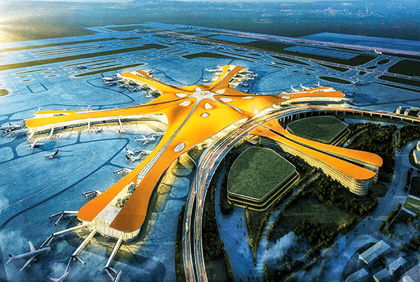 Smarter Flughafen in Peking