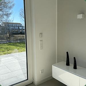 KNX Taster in Wohnzimmer