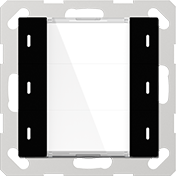 GVS KNX Multifunktions-Tastsensor ADVANCE+ 3-fach Schwarz